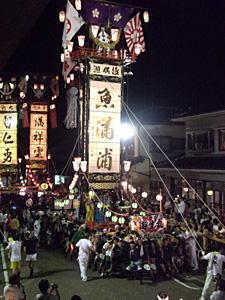 七尾・石崎奉燈祭